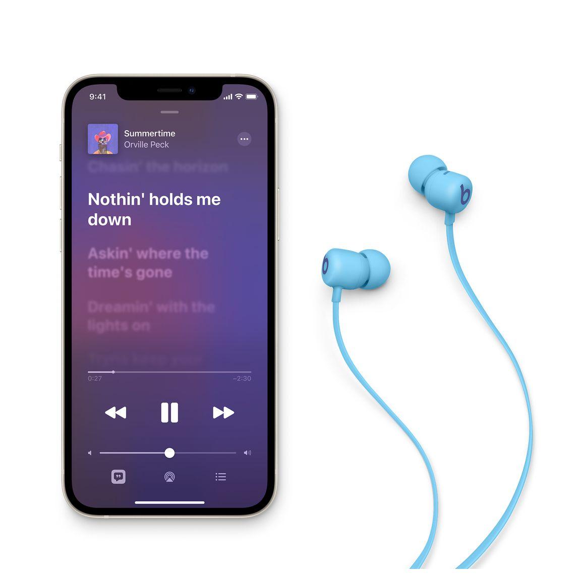 - Audifono In Ear Wireless Flex Beats / Azul 2