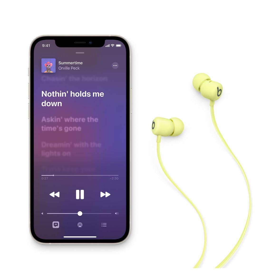 - Audifono In Ear Wireless Flex Beats / Amarillo 6