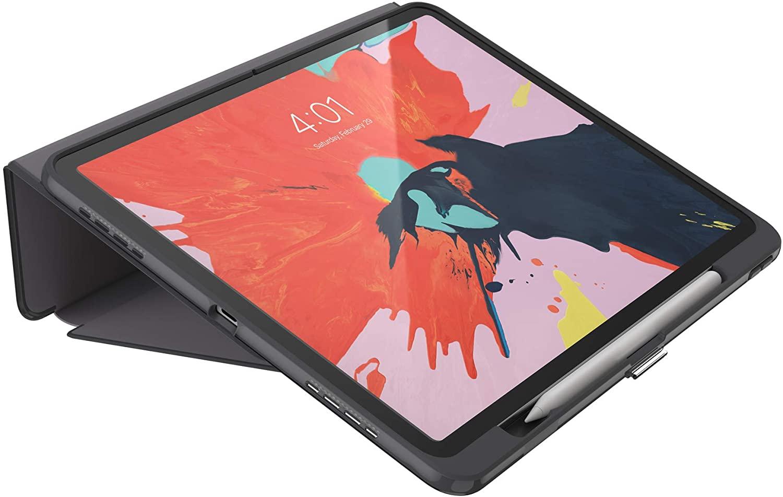 - Funda folio presidio para iPad 12.9 Speck grey 3