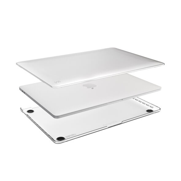 - Funda dura Smartshell para MB Pro 13 C/S T.Bar Speck transparente 2