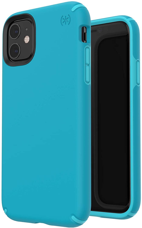 - Funda para iPhone 11 Presidio Speck azul 2