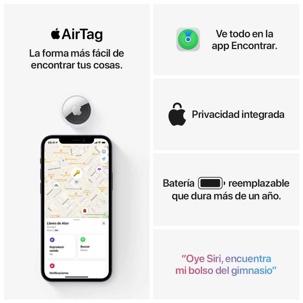 - AirTag Apple pack 4 (Lanzamiento) 7