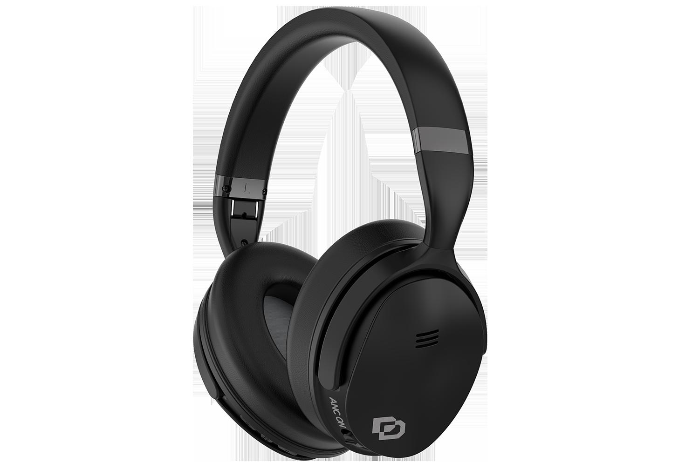 - Audífonos On Ear BT con cancelación de ruido activa ANC 1