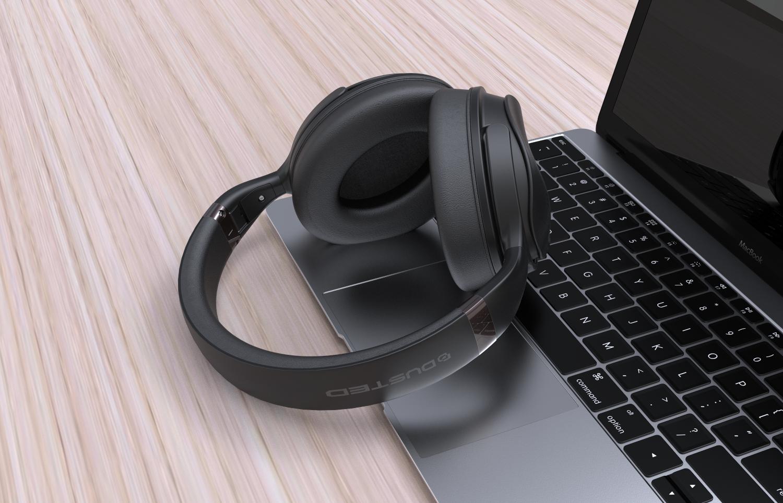 - Audífonos On Ear BT con cancelación de ruido activa ANC 5
