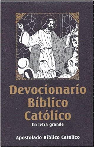 Devocionario Bíblico Católico || En Letra Grande