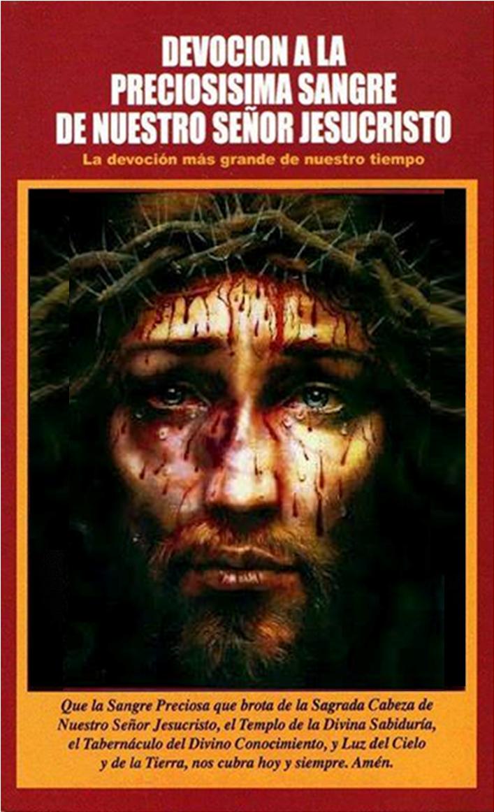 Devoción a la Preciosísima Sangre de Nuestro Señor Jesucristo