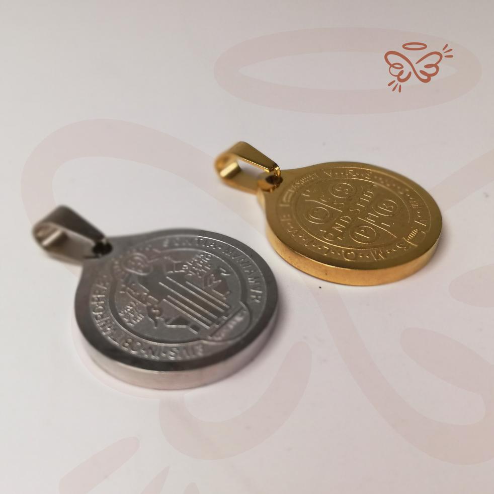 Medalla Acero San Benito