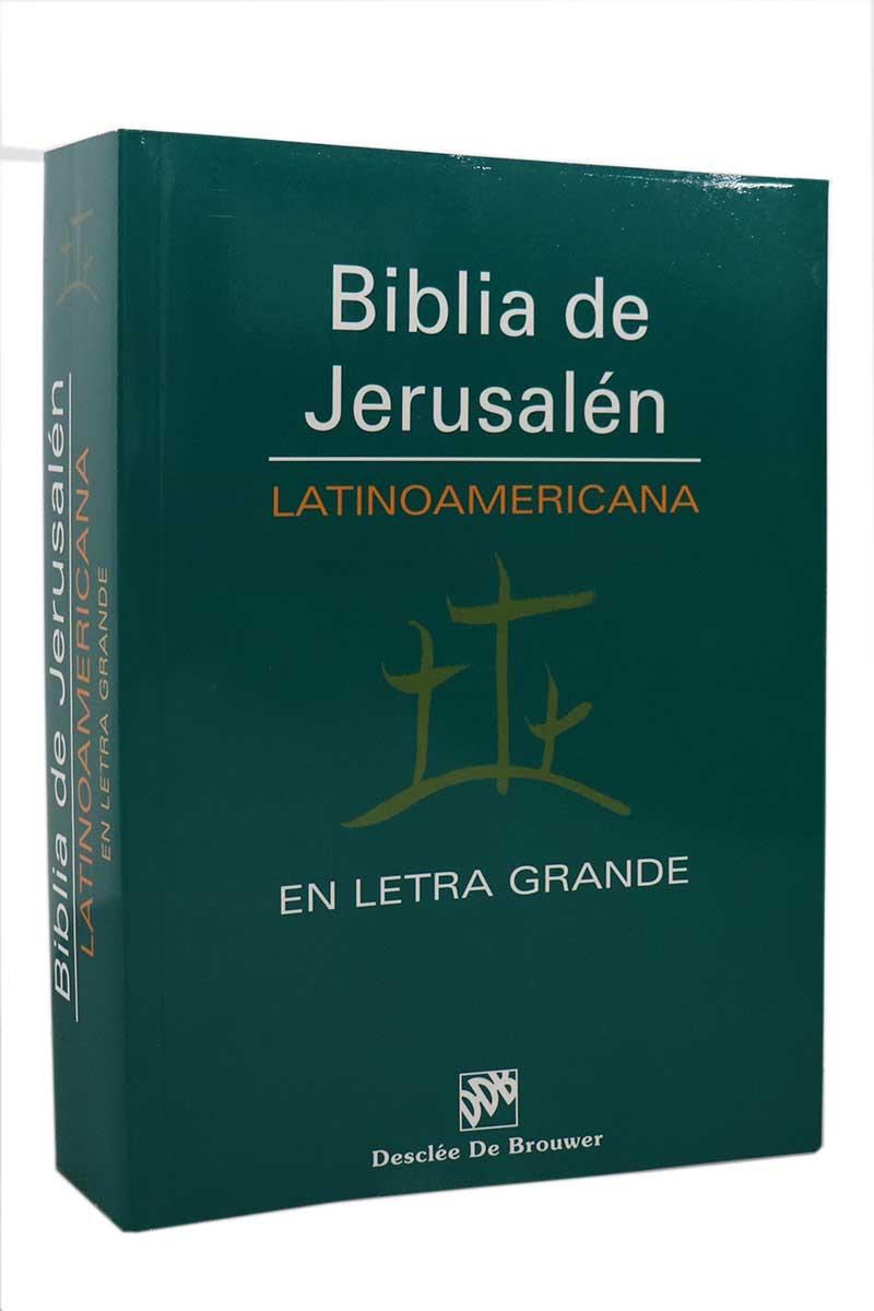 Biblia de Jerusalén Latinoamericana || Letra Grande