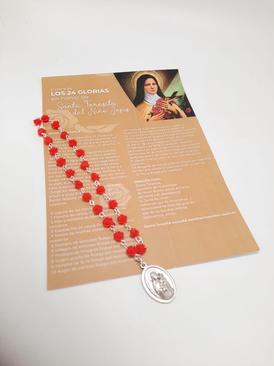 Los 24 Glorias en honor a Santa Teresa del  Niño Jesus
