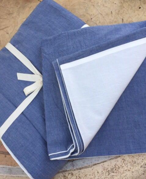 Stonewash Azul/ Blanco 220 x 240