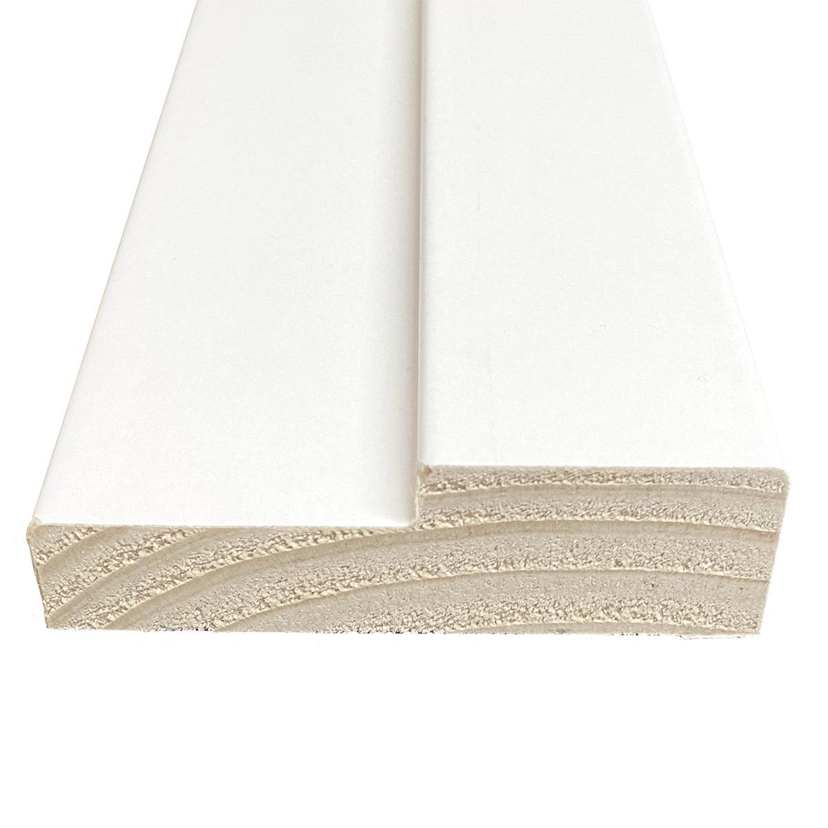 Tira Marco De Puerta Pino Finger Folio Blanco Reforzado 30x90x2500