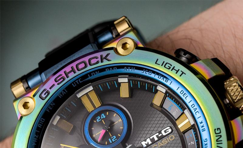 Casio G-Shock MTG-B1000RB Lunar Rainbow Watch Hands-On