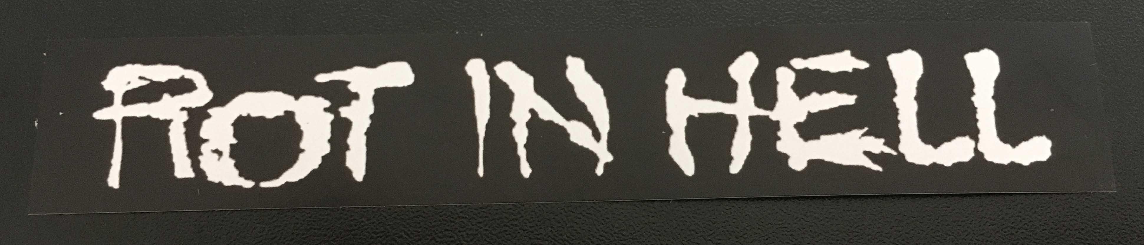 Schism 12 x 2cm Paper Sticker