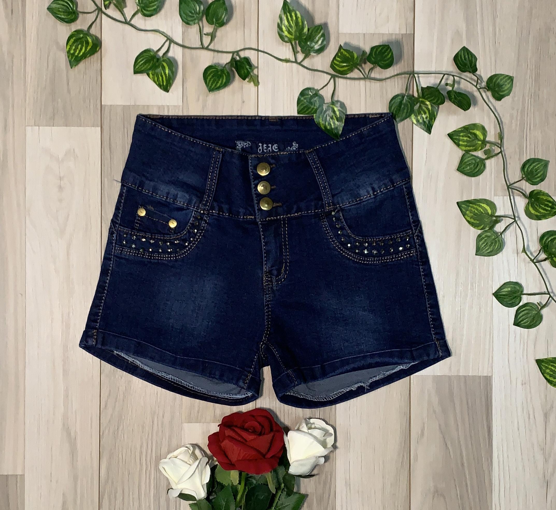 Short Azul con tachas