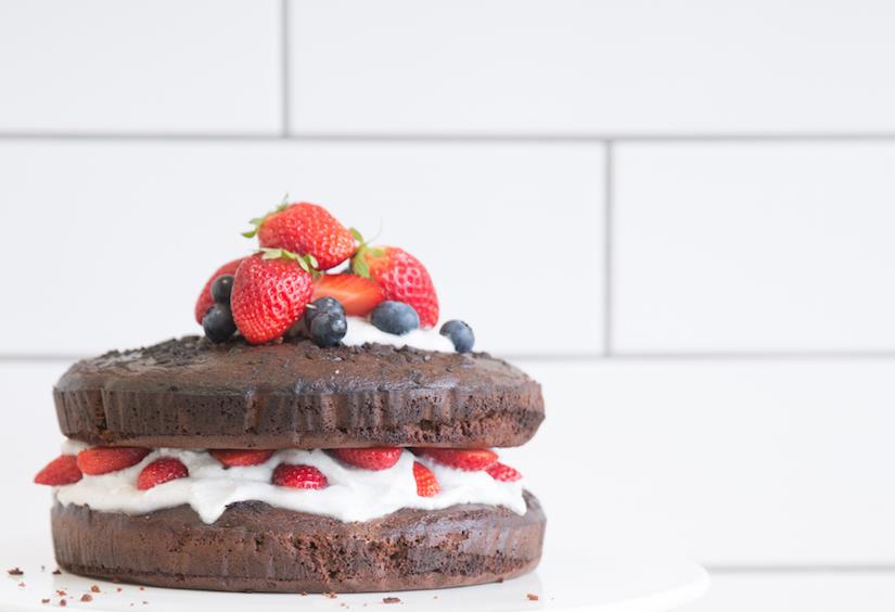 Receta: Torta de Chocolate y Coco