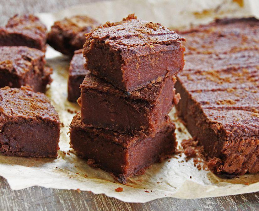 Receta: Brownie de camote sin gluten
