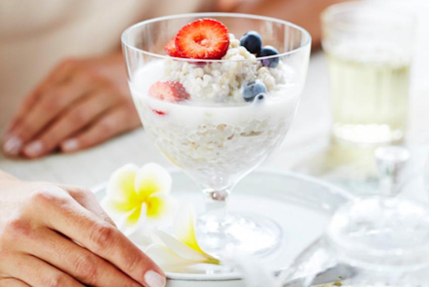 Receta: Porridge de sarraceno con leche de coco