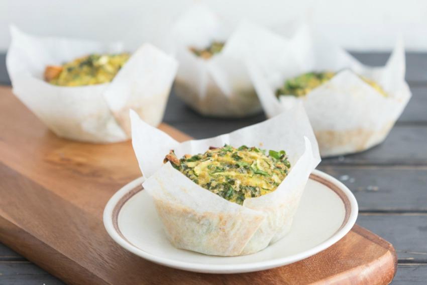 Receta: Muffins de verduras