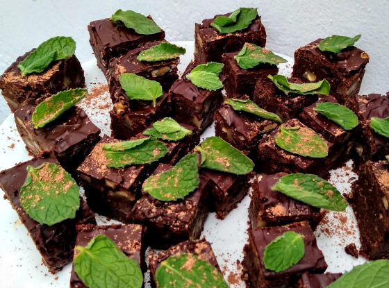 Receta: Brownie sin gluten y vegano