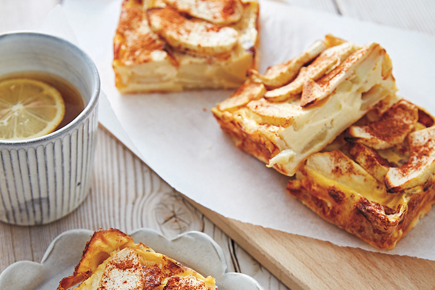 Receta: Panqueque de manzana al horno (sin gluten ni lacteos)
