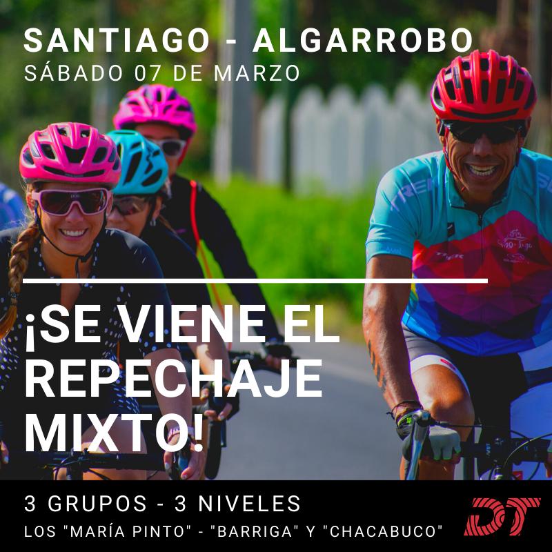 Salida Santiago - Algarrobo Nueva fecha 7 de Marzo - hombres y mujeres