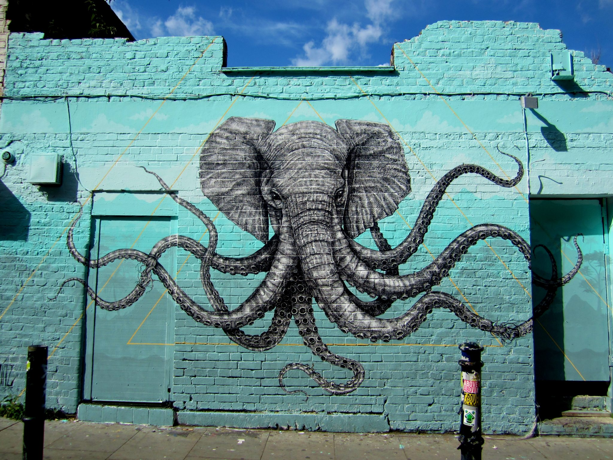 Arte callejero animal