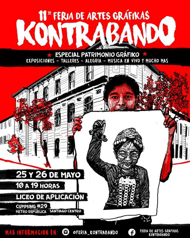 11a Feria Kontrabando - Patrimonio Gráfiko Público 2019