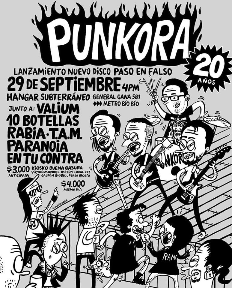 Celebración 20 Años de Punkora y Lanzamiento del disco