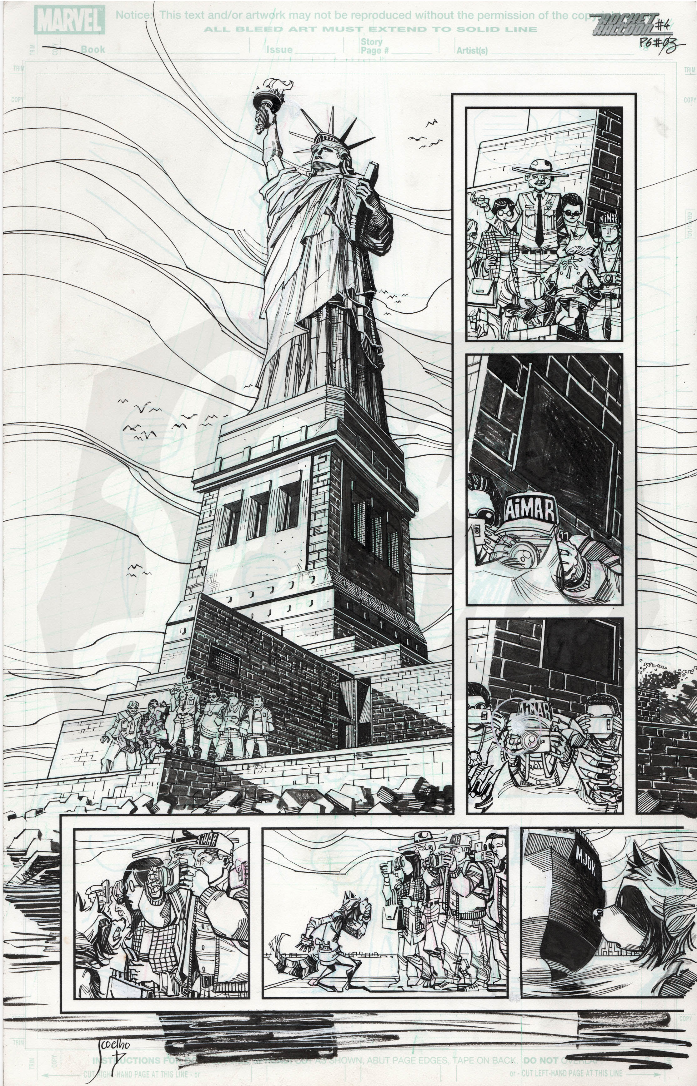 Rocket Raccoon #4, Page 3