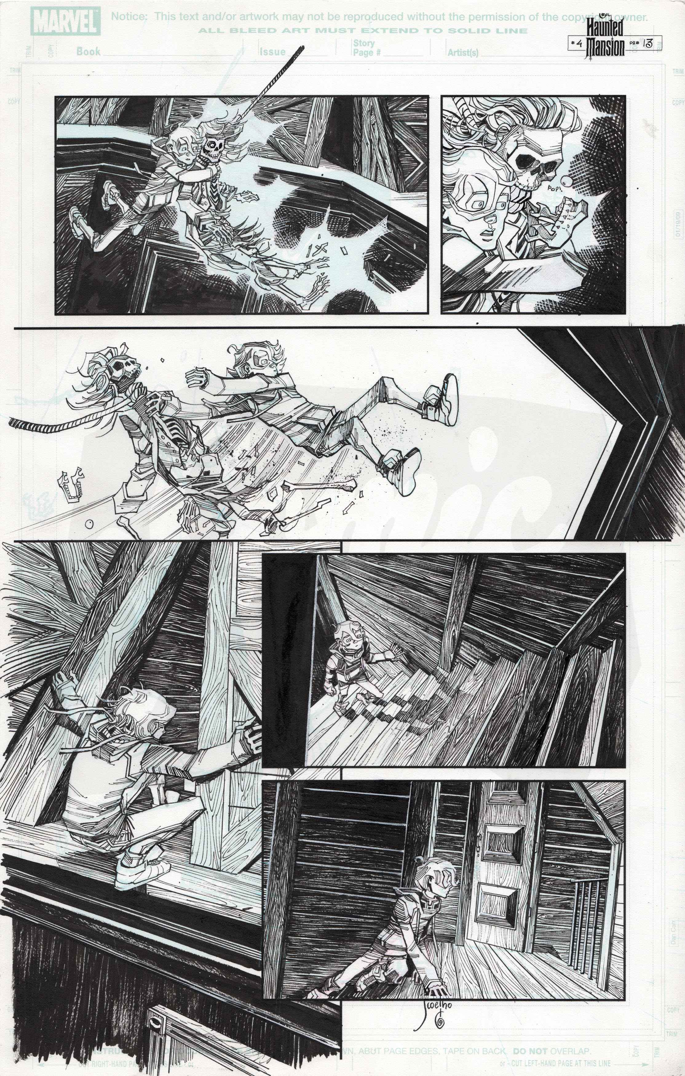 Haunted Mansion #4, Page 13