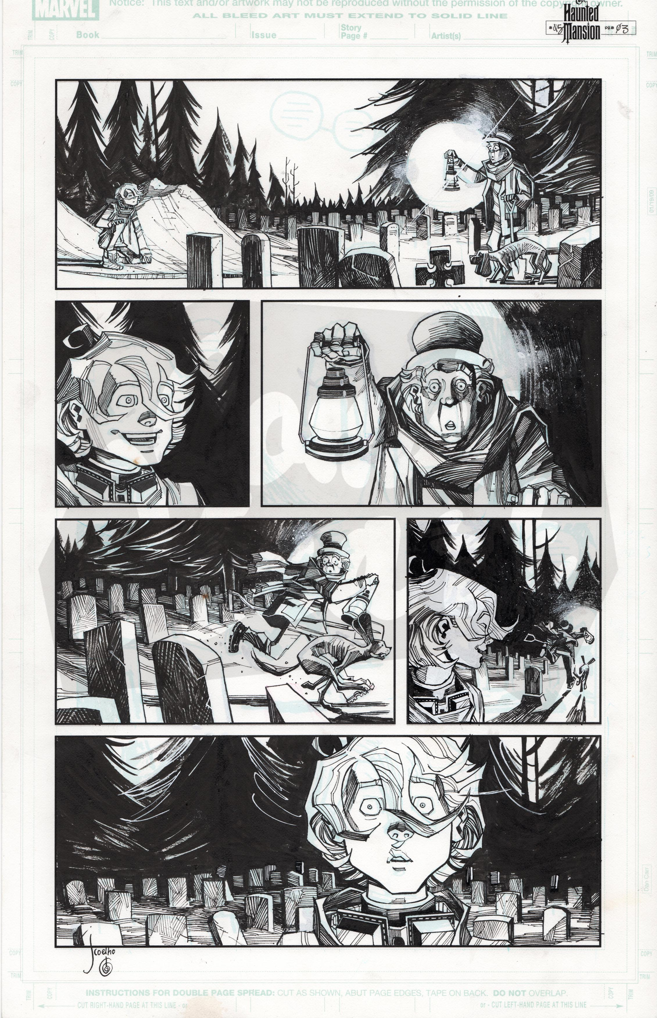 Haunted Mansion #5, Page 3