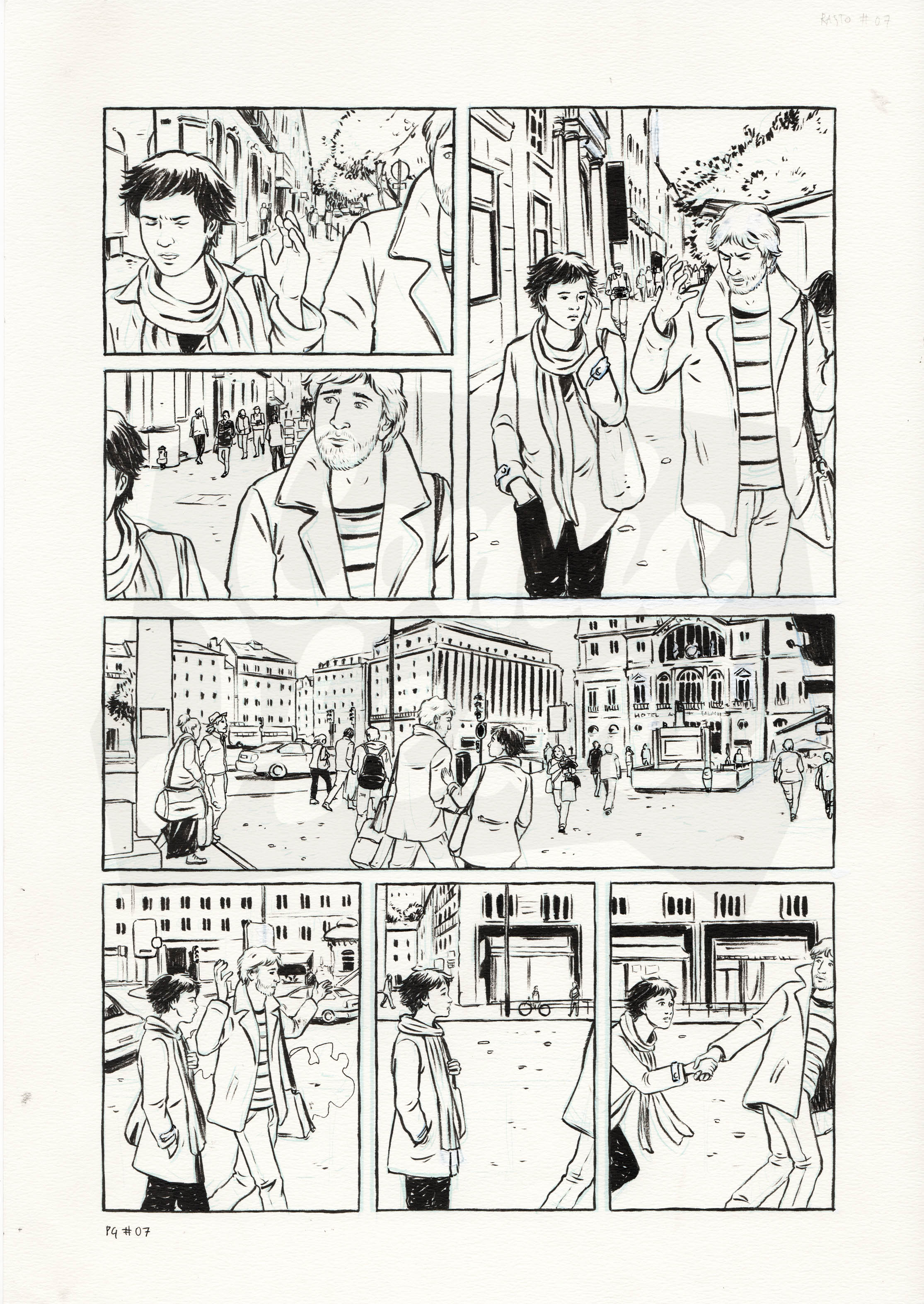 O Rasto do Fantasma (Page 7)