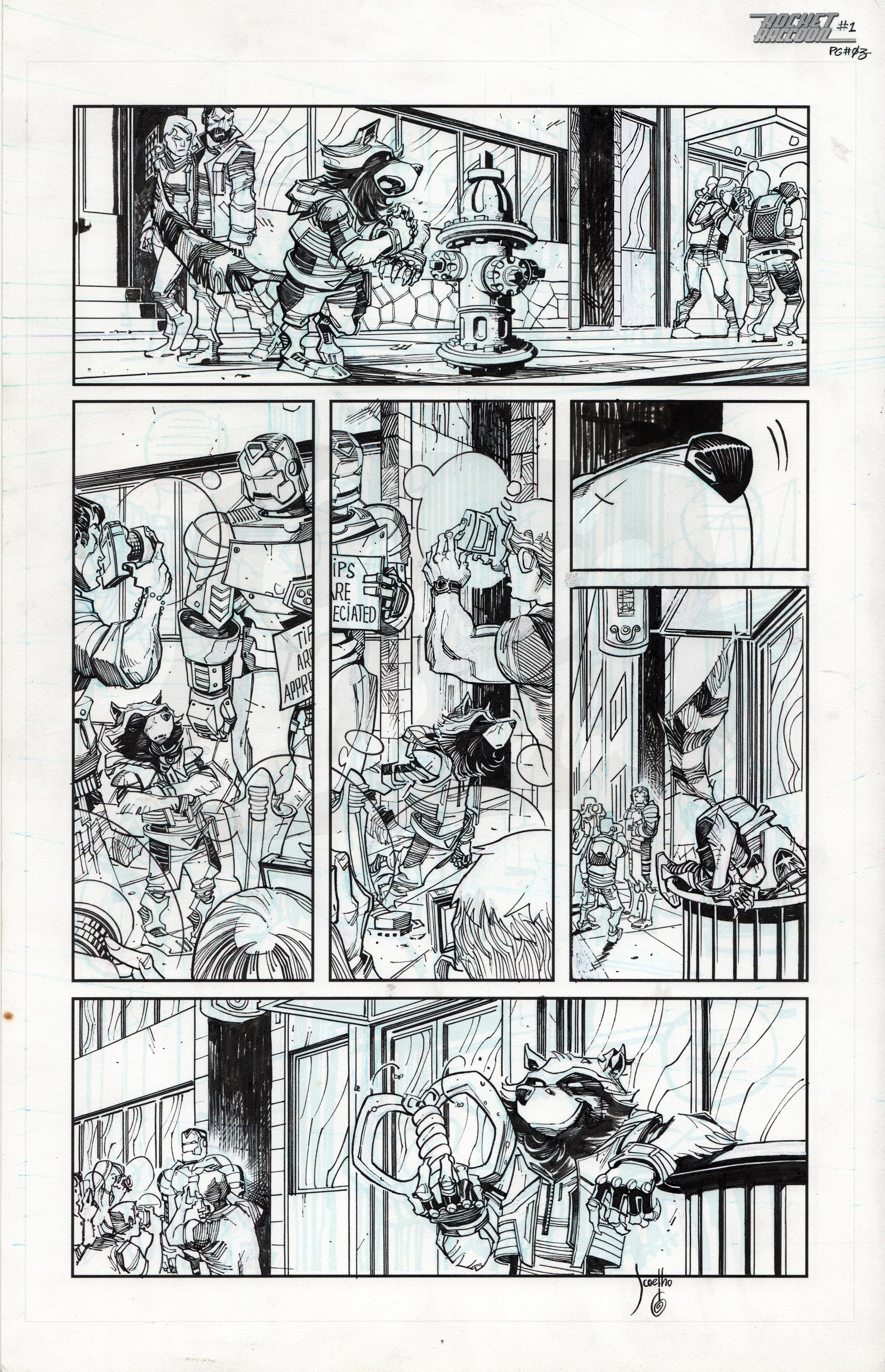 Rocket Raccoon #1 , Page 3