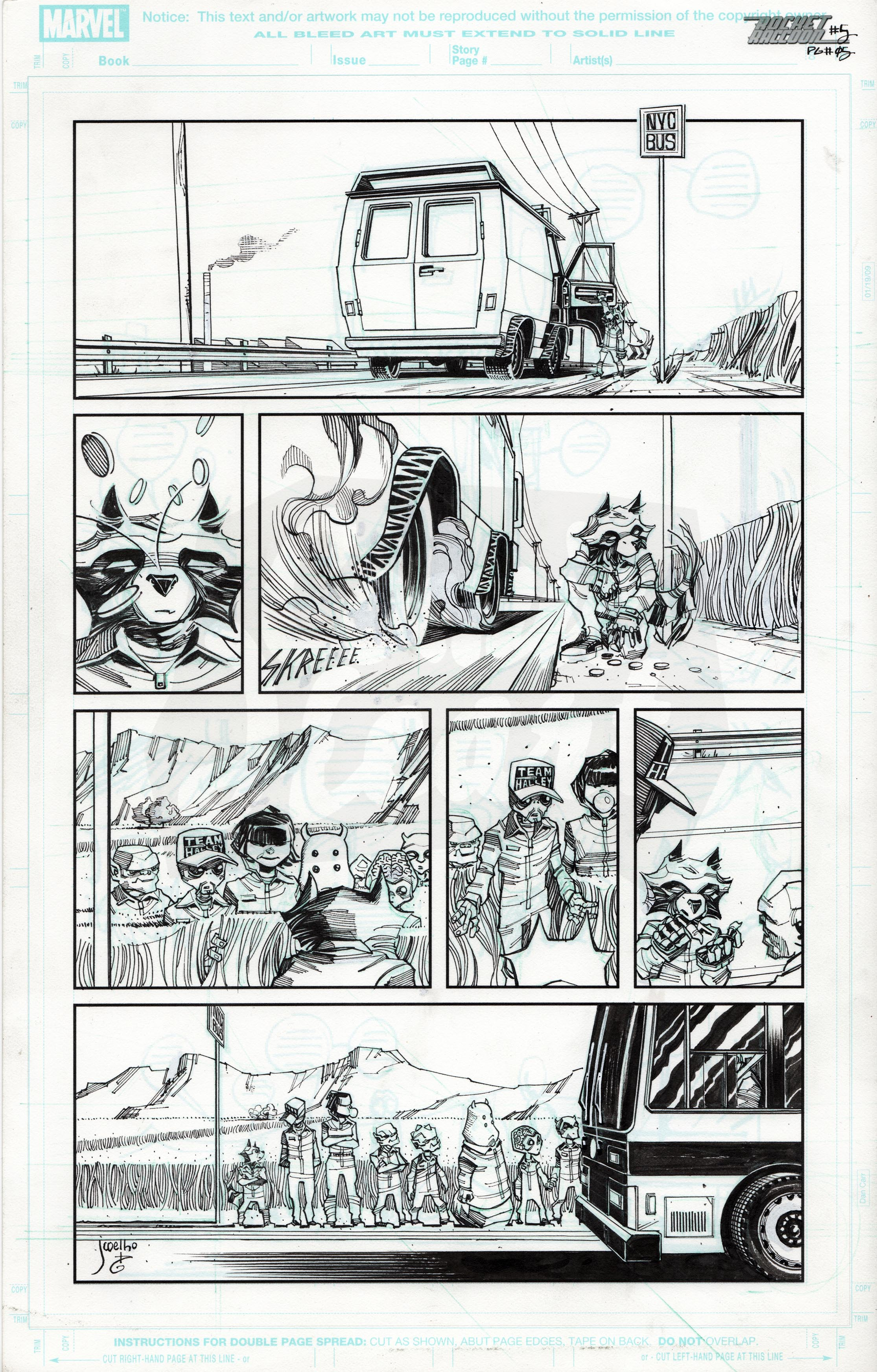 Rocket Raccoon #5 (Page 5)