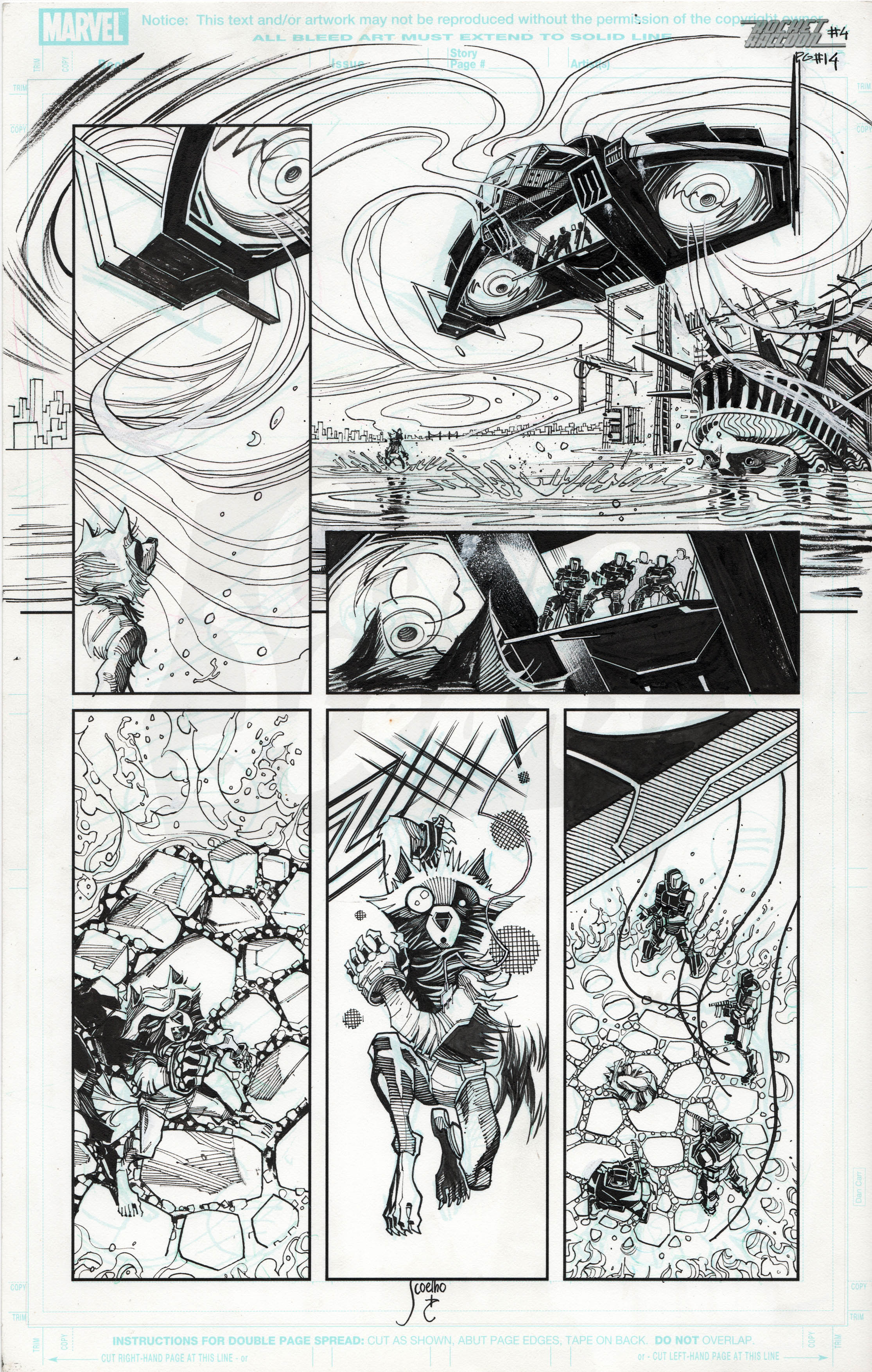 Rocket Raccoon #4 , Page 14