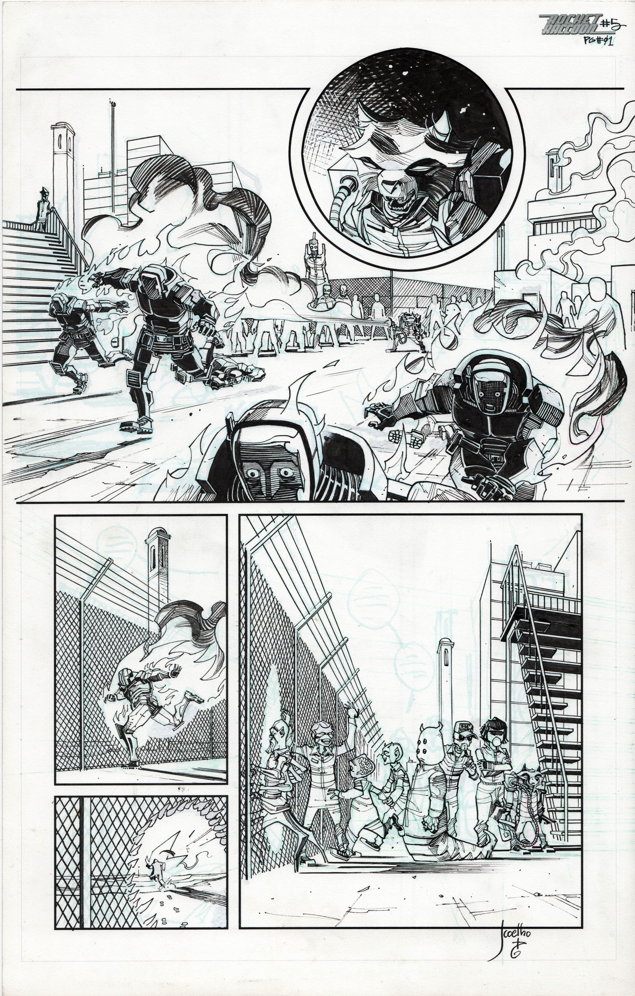 Rocket Raccoon# 5 (Page 1)