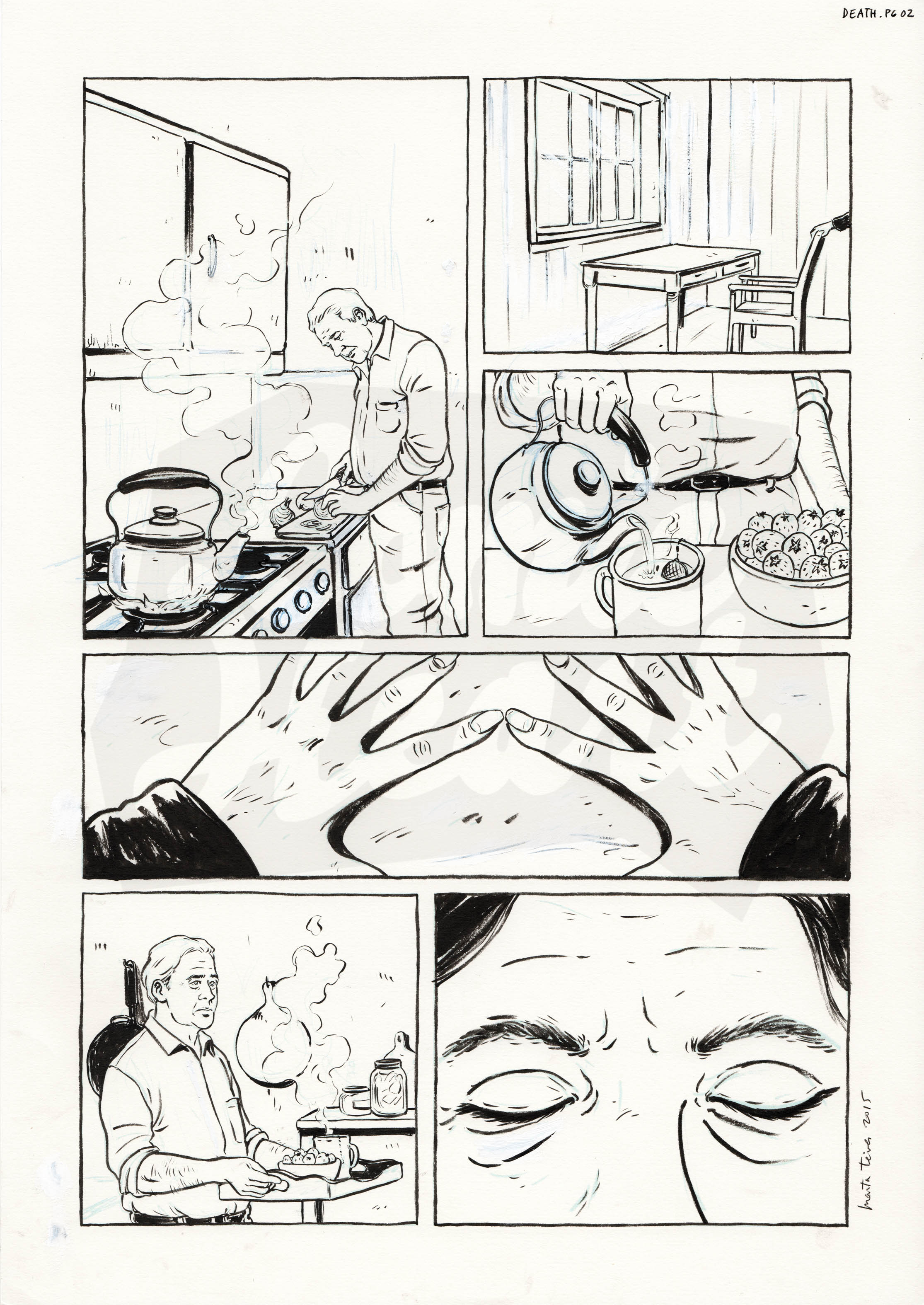 The Man Who Married Death (Page 2)