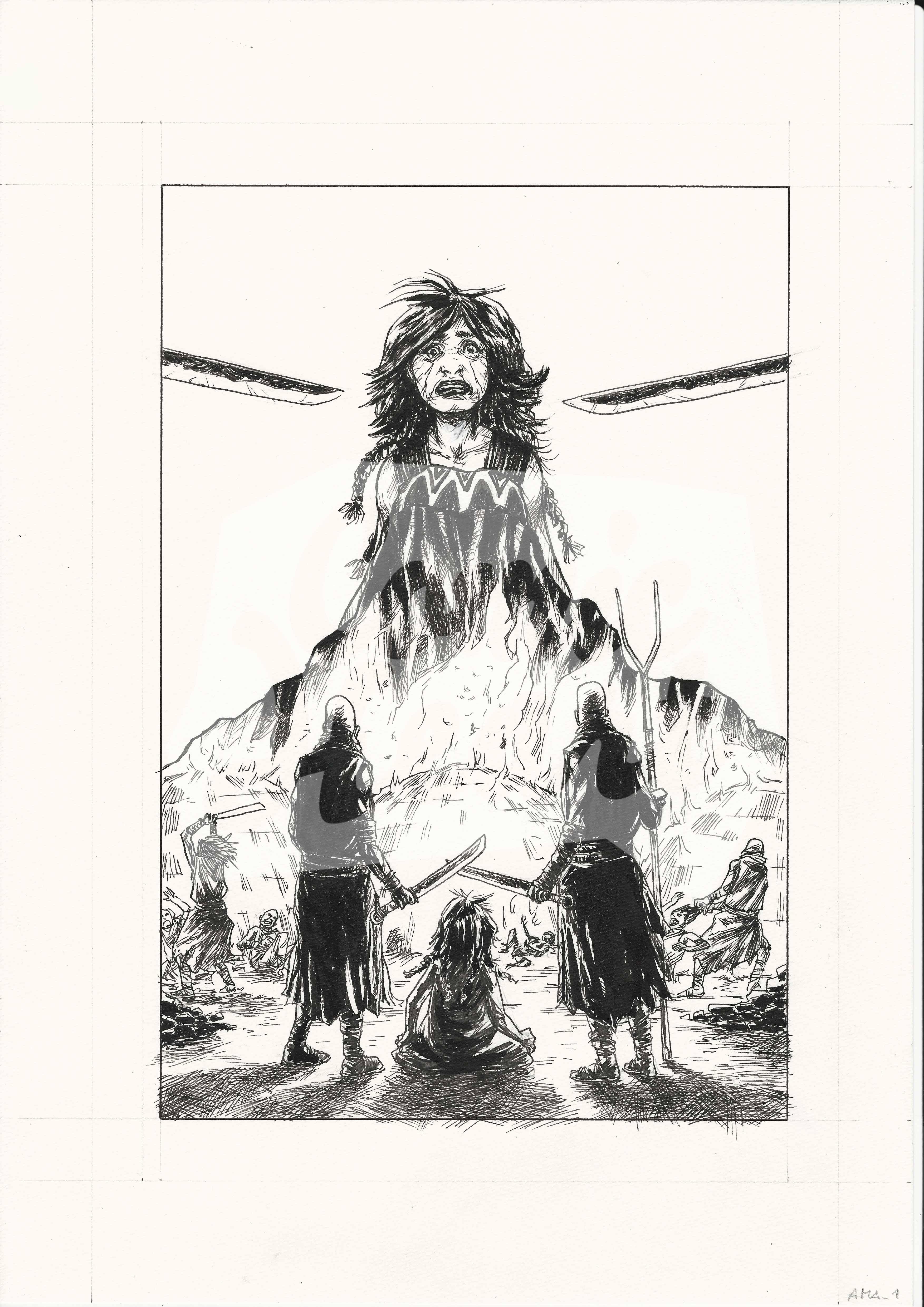 Amazzoni - Storie de la Progenitrice (Page 1)