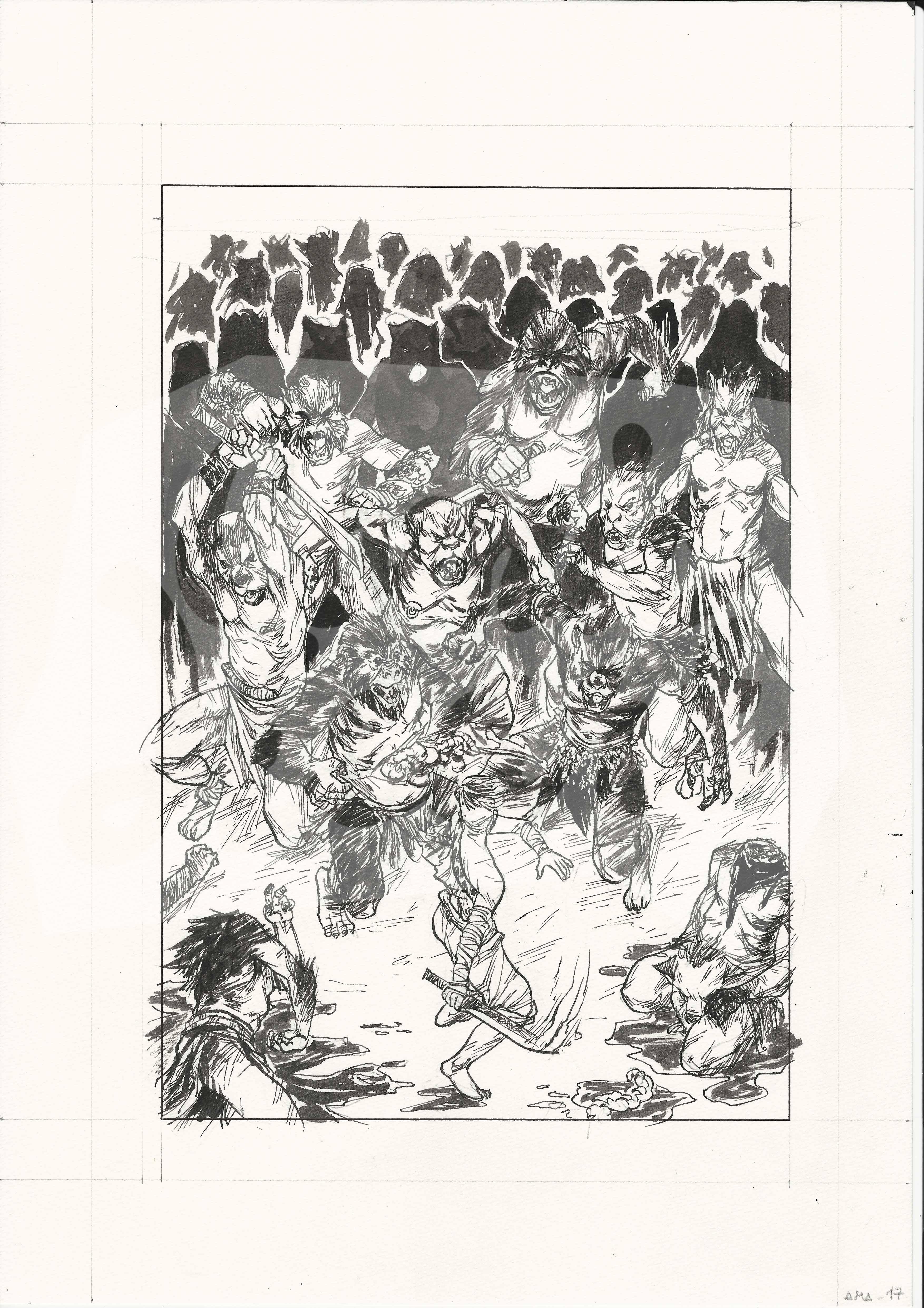 Amazzoni - Storie de la Progenitrice (Page 17)