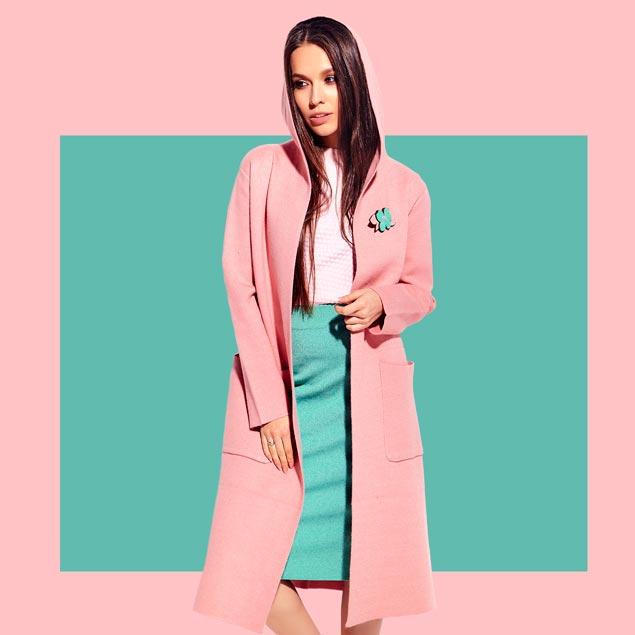 Pink coat