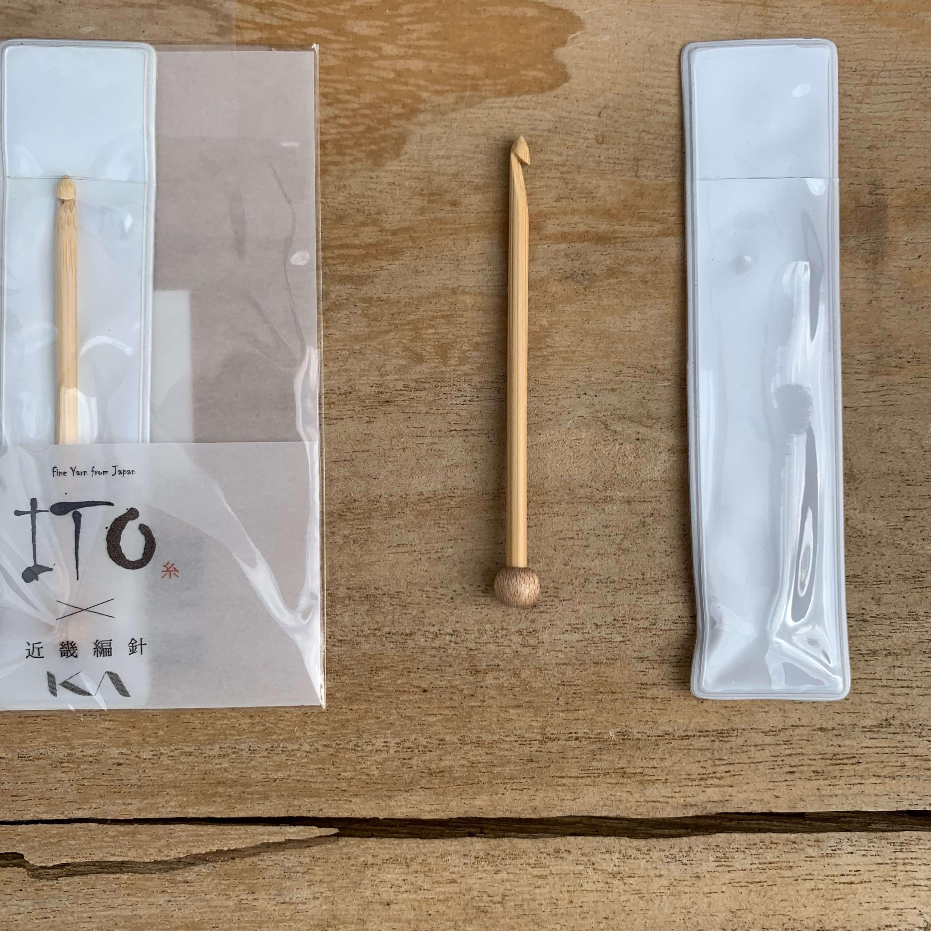 Ito Bamboo Needle | Agulha Auxiliar em Bambu