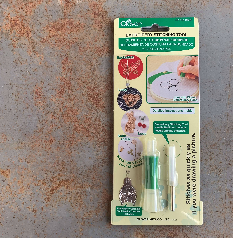 Clover, Embroidery Stitching Tool | Agulha Oca