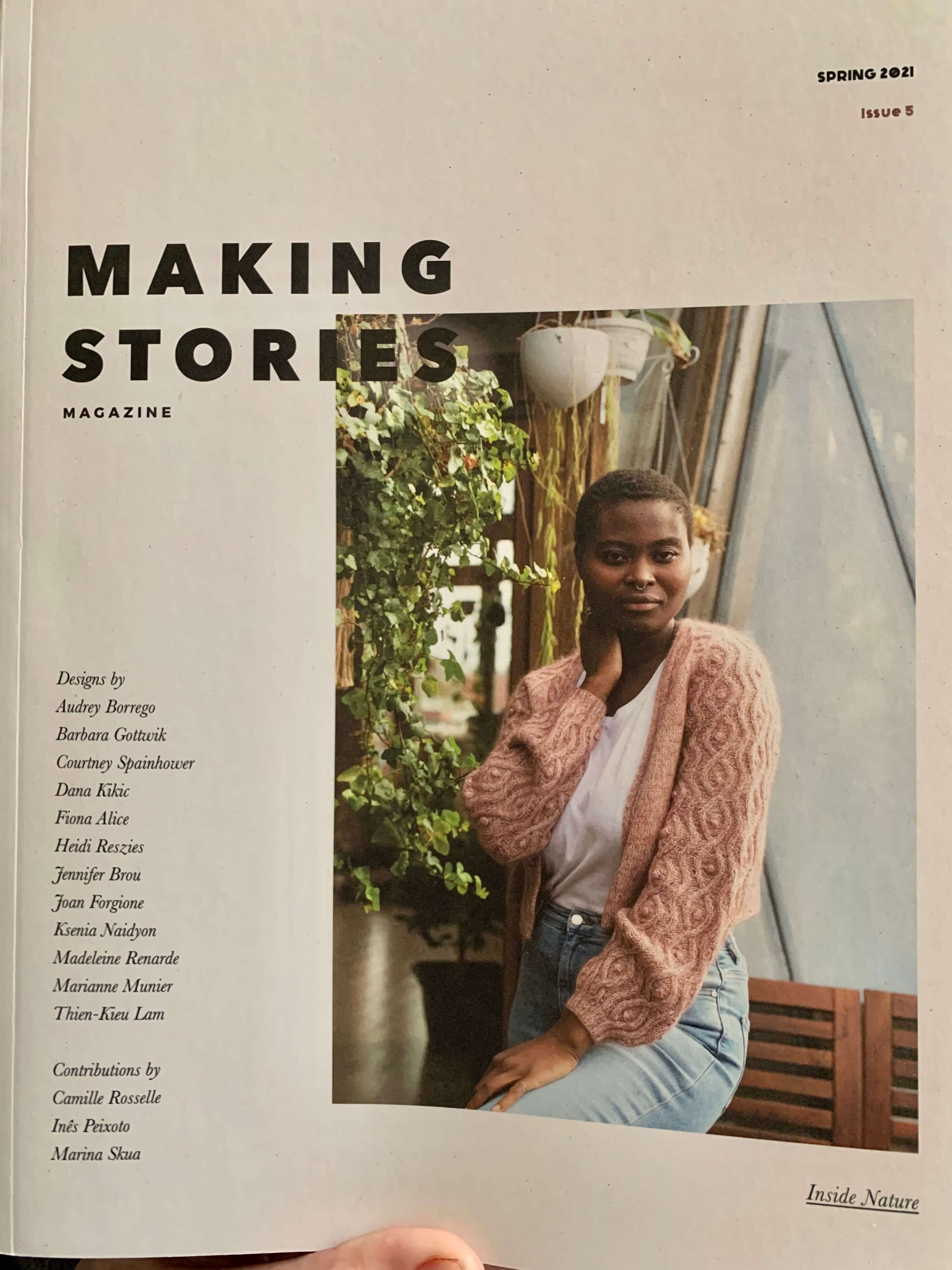 Making Stories Issue 5 Spring 2021