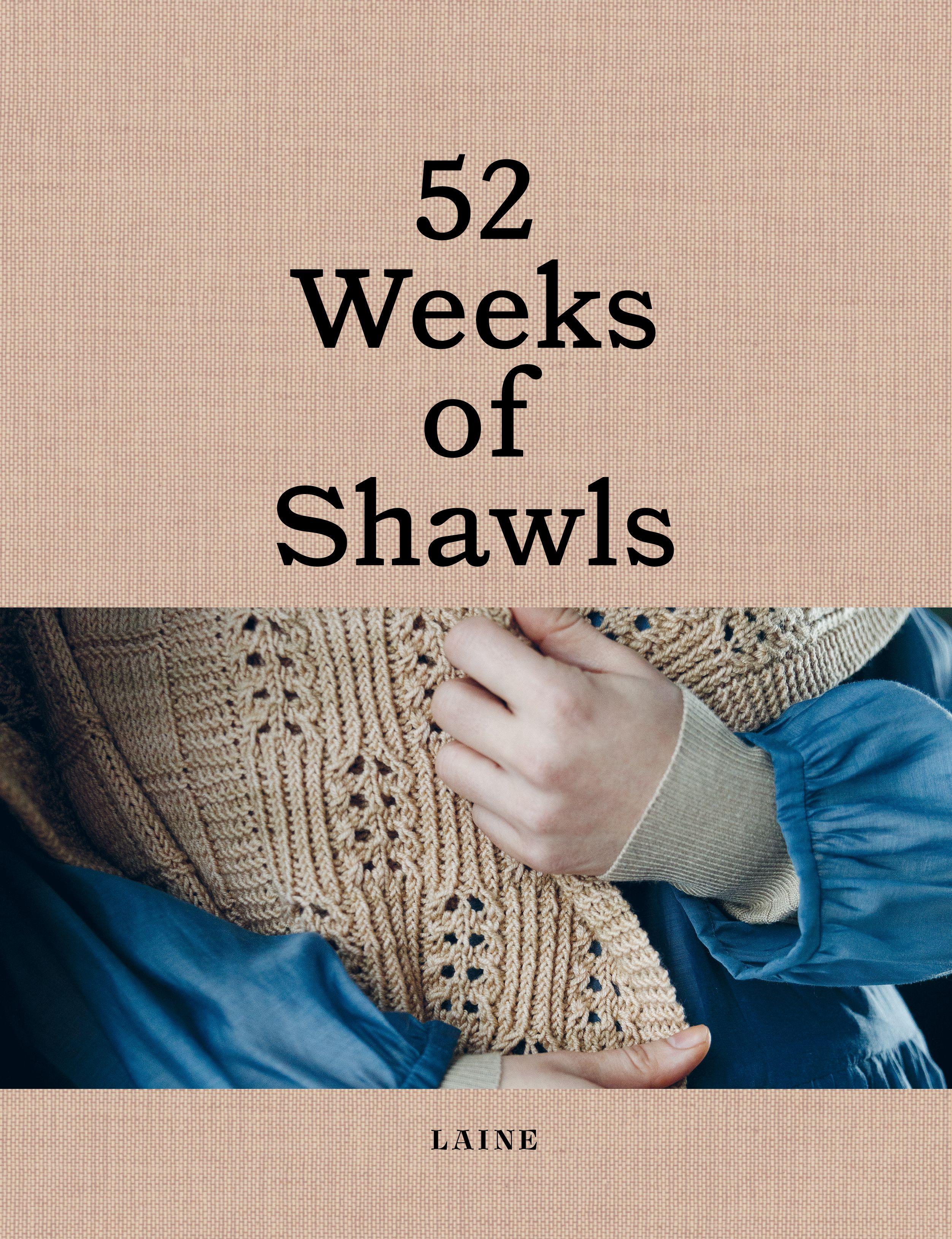 Preorder   52 Weeks of Shawls   Pré-venda