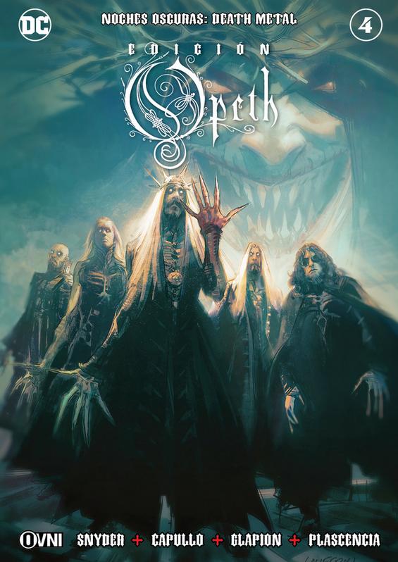 Noches Oscuras: Death Metal #4 Edición OPETH