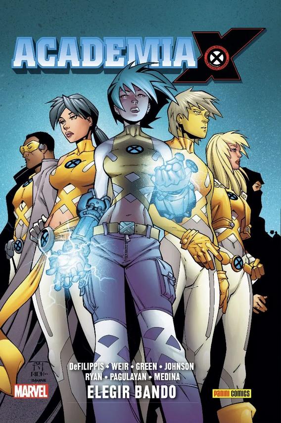 100% Marvel HC. Academia X #1: Elegir Bando