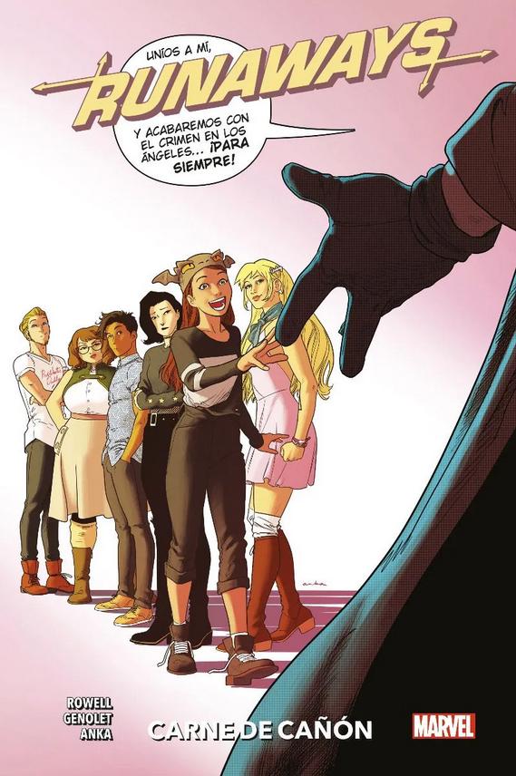 100% Marvel HC. Runaways #5: Carne de cañón
