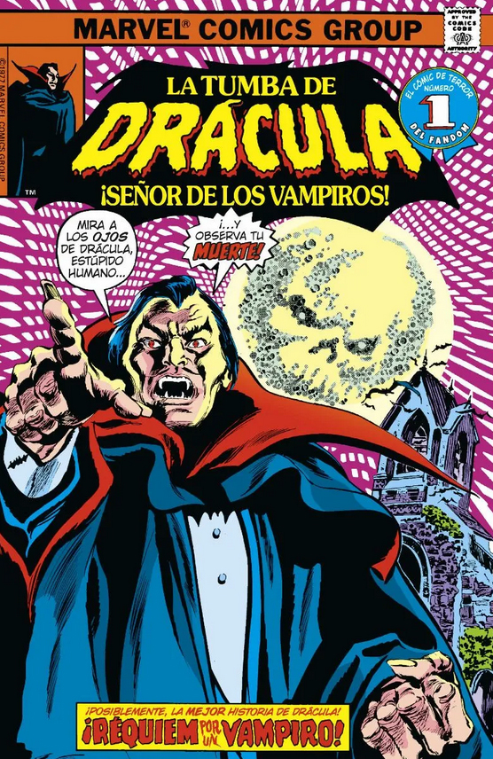 Biblioteca Drácula. La Tumba de Drácula 8 de 10 ¡La ira de Drácula!