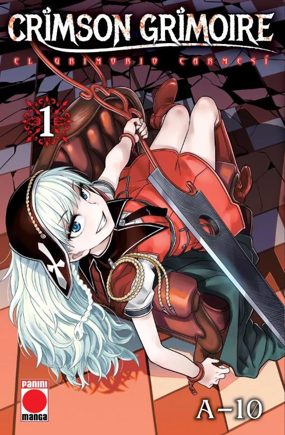 Crimson Grimoire: El Grimorio Carmesí #1