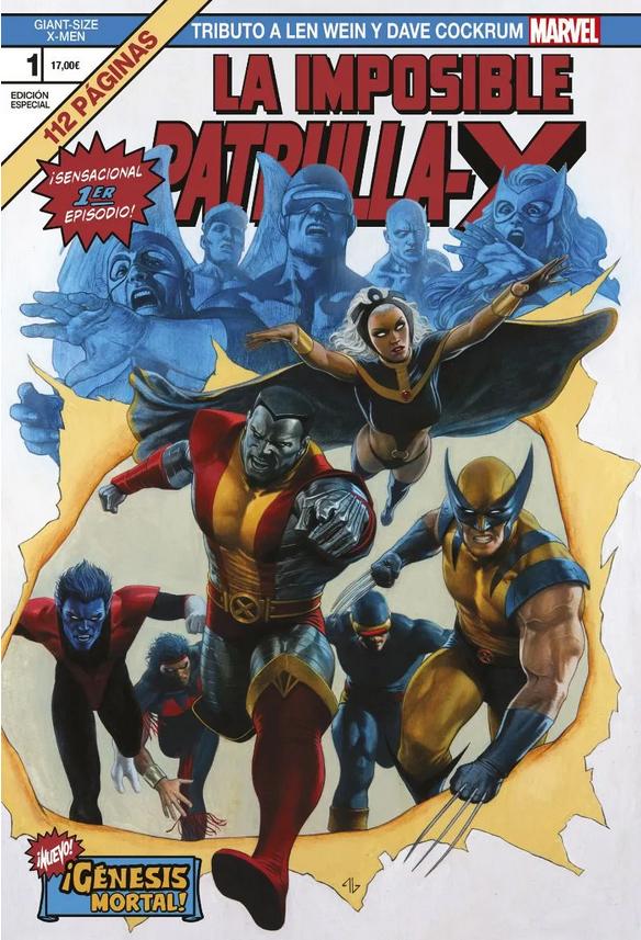 Giant Size X-Men: Tributo a Len Wein y Dave Cockrum - ¡Génesis Mortal!